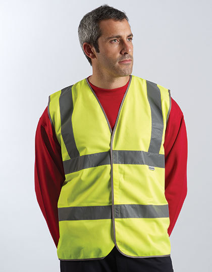 Professional Safety Vest Yellow